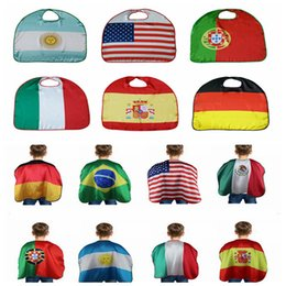 World Cup Flag Costume Cape National USA Italy Germany Flag Cloak Clothing Kids For International Festival DDA368  sc 1 st  DHgate.com & Germany Costume Online Shopping | Germany Costume for Sale