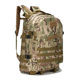 China 55L 3D Outdoor Sport shoulder Tactical climbing mountaineering Backpack Camping Hiking Treking Rucksack Travel Backpacks mens luggage Bag cheap shoulder tennis bags suppliers