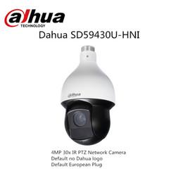 Venta al por mayor de Dahua IP Speed Dome SD59430U-HNI con logotipo Dahua 4MP 30x IR PTZ Red Camera2019 Venta caliente Inglés Firmware