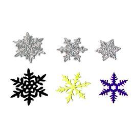 $enCountryForm.capitalKeyWord NZ - Cutting dies Snowflake 3pcs set for Card Stencil Scrapbooking and Paper Crafts handmade Embossing folder DIY paper craft Machine
