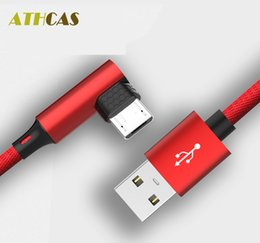 Product Brand Color Canada - 2018 Athcas Hot Micro Usb for Type-c New Product Nylon Metal Cable Suitable To Play Game Small Moq