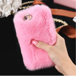$enCountryForm.capitalKeyWord NZ - Wholesale Luxury Rabbit Furry Case For Samsung Galaxy J5 J7 J3 J2 A3 A5 A7 2016 Hard Phone Cases Back Cover For Galaxy A7 A5 A3