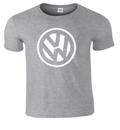 Lavender Gift Sets UK - VW Badge Off Set Polo Golf T Shirt Funny free shipping Unisex Casual gift