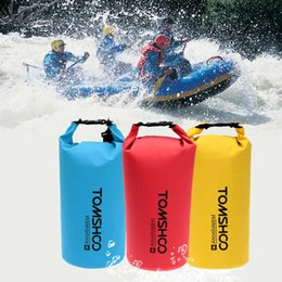 Plastic Swimming Australia - Dry Bag Waterproof Phone Cases Pouch Sack Storage Bag PVC For Outdoor Diving Swimming Travel Rafting Boating Kayaking Canoeing Camping