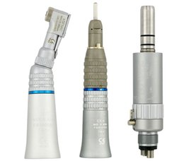 Wholesale Dental Low Speed Handpiece EX203 Straight Contra Angle Air Motor Borden Midwest Holes