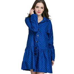 $enCountryForm.capitalKeyWord UK - Long Raincoat Women Ladies Rain Coat Women's Rainwear Breathable Rain Coat for Women Poncho Water-Repellent Riding Clothes