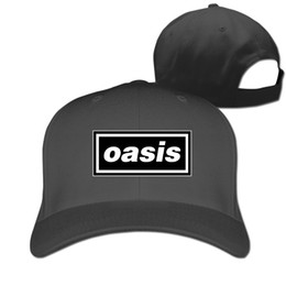 df164bfcd9c Couple Baseball Cap Oasis Rock Band Print Mens Womens Hip Hop Baseball Caps  Adjustable Snapback Caps Hats Man Femal Hat