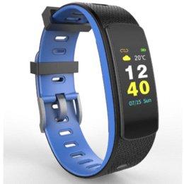 Großhandel IWOWN i6 hr c Original IWOWNFit i6 HR C mit Farbbildschirm Pulsmesser Armband mit Fitness Tracker Sport Smart Band
