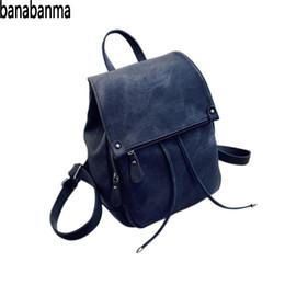 528e07fa4ef6 Banabanma Women PU Backpack Solid Color Flap Bag with Drawstring Closure  Shoulders Bag Schoolbag Daypacks Backpack Women ZK30