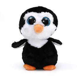 b58abc4f134 5pcs lot 22cm Ty Beanie Boos Big Eyes Penguin Plush Toy Doll Waddles Penguin  Plush Soft Stuffed Animals Toys for Girls Kids Gift