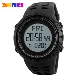 $enCountryForm.capitalKeyWord Canada - SKMEI Top Brand New Men's Sports Watches Luxury Outdoor Pedometer Watch Casual  Men Dual Time Display Wristwatches Hot