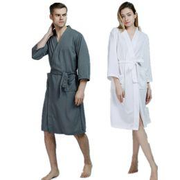 5685ed58e9 Cotton Spa Robes UK - New Women Sleepwear Nightwear Kimono Robe Soild  Winter Autumn Casual Cotton