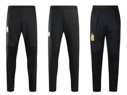 China 18 19 Men Nation Team Soccer Long Pants Argentina Outdoor Soccer Long Trousers Spain Football Trousers Soccer Shorts Belgium Football Wear supplier team shorts suppliers