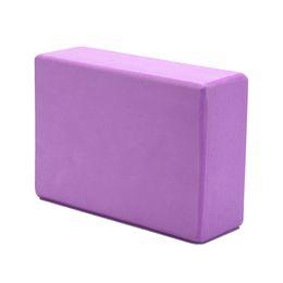 $enCountryForm.capitalKeyWord Australia - Purple Yoga Block EVA Foam Brick Pilates Sports Dance Exercise Gym Workout Stretching Aid Body Shaping Health Training 1Pc