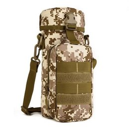 Molle water bottle pouches online shopping - New Outdoors Molle Water Bottle Pouch Tactical Gear Kettle Waist Shoulder Bag for Army Fans Travel Climbing Camping Hiking Bags