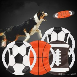 $enCountryForm.capitalKeyWord NZ - 2018 World Cup Dog Flying Disc Bite Resistant Funny Canvas Training Toy Interesting Round Pet Frisbee For Puppy 2 74tt ZZ