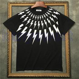 2019 neue sommer männer Marke Kragen weiß blitzdruck kurzarm t-shirt Designer t-shirt Camisetas t-shirts unsex baumwolle t-shirts im Angebot