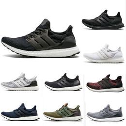 e45bf55b8a7b9 Ultra boost 4.0 3.0 Running shoes core Triple Black white CNY Primeknit  Runner fashion ultraboost sports trainer men women sneakers 36-45
