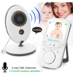 battery monitoring Australia - 2.4 inch Color Video vb605 wireless baby monitor with 2 Way Talk Nigh Vision IR LED Temperature Monitoring
