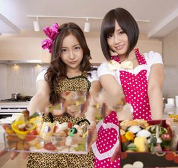 Discount lace aprons - Princess sweetlolita apron South Korea Japanese style Japan AKB48 with the same Apron - Leopard sexy lace Lolita WQ17