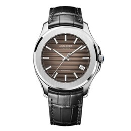 $enCountryForm.capitalKeyWord NZ - AGELOCER Swiss Power Reserve Business Men Watches Automatic Man Sport Black Watch Mechanical Male Clock Relogio Masculino SAAT