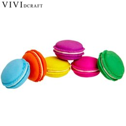 rubber supplies NZ - Vividcraft Office School Supplies 5 pcs Chic Cute Erasers Macaron Rubber Pencil Eraser Students Rewarding Kids Gift Stationery