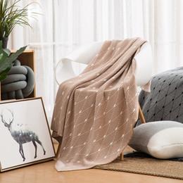 $enCountryForm.capitalKeyWord NZ - Sofa Throw Rugs Knitted Rug Throw Bed Sleeping Blanket Plane Travel Blanket Cotton Sofa Covers