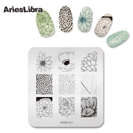 $enCountryForm.capitalKeyWord NZ - Beautiful Image Design Nail Art Print Stamping Plates Nail Template for Stencil Plate Manicure DIY Styling Tools