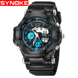 Men Digital Wrist Watches Australia - Luxury Men Watches Digital Sport Wrist Watches For Man Casual Led Male Clock 50M Waterproof Men Relogio Masculino Reloj Hombre