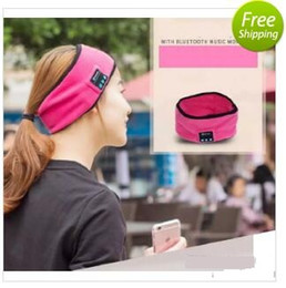 phone hoops Canada - 2018 popular movement with the bluetooth music belt running fitness yoga hair with hair hoop headscarves free shipping