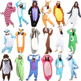 cdb871f19b93 Animal Onesie Cosplay Costume Adult Pajamas Fox Cow Duck Kangaroo Tiger Dog  Rabbit Bear Cat Squirrel Penguin Donkey Pyjamas