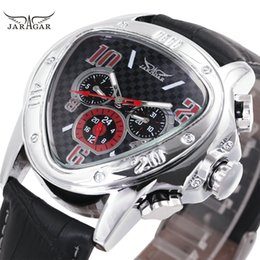 $enCountryForm.capitalKeyWord NZ - Fashion Luxury Men Automatic Mechanical Wrist Watches Top Brand WINNER Triangle Men's Watches 3 Sub-dials 6 Hands reloj hombre Y1892111