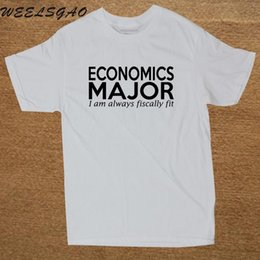 6bd91b53 Fitted Mens Tee Australia - Brand Cotton Clothing Male T Shirt Casual Economics  Major I Am