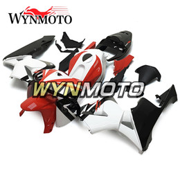 Honda F5 NZ - White Redl Black Fairings ABS Injection Bodywork For Honda CBR600RR F5 Year 2005 2006 05 06 Complete Fairing Kit New