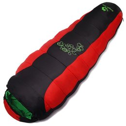 $enCountryForm.capitalKeyWord UK - Thickening fill four holes cotton sleeping bags outdoor lazy bag camping mountaineering special camping bag movement