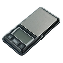 Discount electronic pocket scale pcs by dhl fedex 200 pcs lot 500g x 0.1g Portable Digital Pocket Scale 0.1 Silver Jewelry Scale Electronic Scales Weighing B