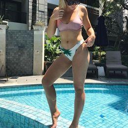 8c4f2ca23a 2018 bikini bottom sexy high cut brief swimming panties low waist swimwear  underwear plus size thong bottom biquini