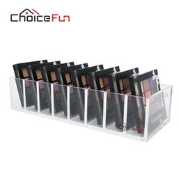 fun palette UK - CHOICE FUN Exquisite Design Beauty Acrylic Eye Shadow Organizer Clear Plastic Blush Organizer Cute Mini Palette