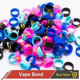 $enCountryForm.capitalKeyWord NZ - 100pcs lot Vape Band 22mm Decorative and Protection for Vapor E cigarette Mod Atomizer Silicon Ring Rubber Band