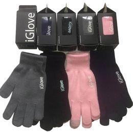 Опт Высокое качество унисекс iGlove емкостный сенсорный экран перчатки многоцелевой зимние теплые перчатки IGloves для iphone 7 samsung s7 2шт в паре
