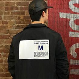 weave labels 2019 - Box Logo Label Coaches Jacket Autumn Winter Warm Thicken Couple Coat Luxury Cotton Jacket Fashion Street Hip Hop Casual