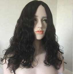 $enCountryForm.capitalKeyWord Australia - Fashion top beauty 100% unprocessed virgin remy human hair long natural color big curly full lace cap wig best for women