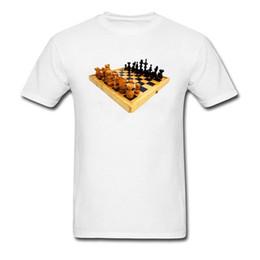 1471157fe Black Butler Chess Board Print Men White T Shirt Novelty Design Short  Sleeve Tops   Tees 3d Design Fashion T Shirts