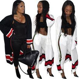 0d106e8fb247 Long poncho dress online shopping - Two Piece Set Autumn Leisure Poncho X  Long Cardigan Outwear
