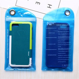 smart clothing 2018 - Waterproof Zipper Plastic Retail Hang hole Package bag hang Poly soft for cable smart phone case packaging bag LZ0810 di