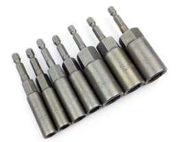 Wholesale New High Quality electric drill hex socket bit mm long H6 mm Socket wrench screwdriver bits