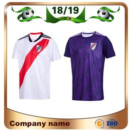 river plate jerseys 2018 - 2019 River Plate home white Soccer Jersey River Plate away red Soccer Shirt 18 19 riverbed Customized football Uniform S