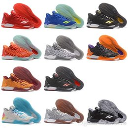 54933eb0cfc0 New 12 Colors D Rose 7 Low Englewood Boost Men Basketball Shoes Derrick  Oreo BHM Bruce Pink 7s Casual Sports Sneakers Size 40-46