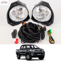 shop light hilux uk light hilux free delivery to uk dhgate ukcar fog lights for toyota hilux vigo 2008 2010 clear front fog lamp cover trim replace assembly kit black (one pair)