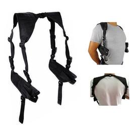 Double Holster For Adjustable Under Horizontal Carrier Best Concealed Carry Shoulder Holster on Sale